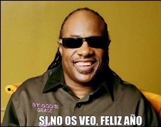Feliz Navidad Antonio Recio.Si No Os Veo Feliz Ano Stevie Wonder Whatsapp Humor