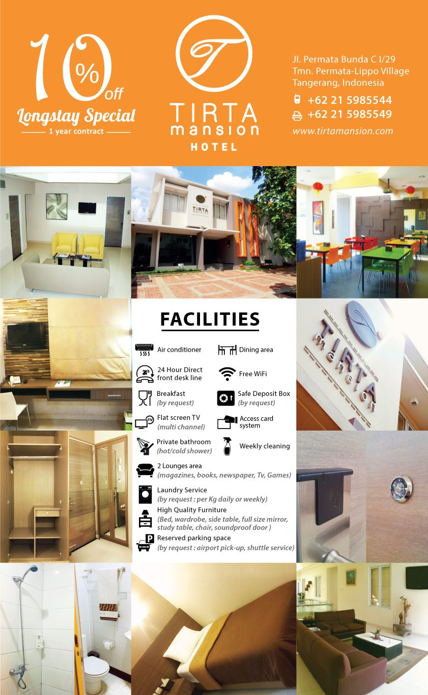 we have special package for Longterm contract, for more information :  +62 21 598 55 44 +62 21 598 55 49