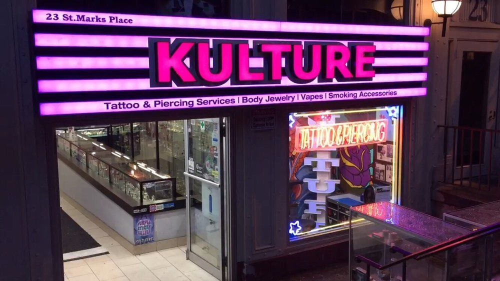 Kulture is one of the best new york tattoo shops in