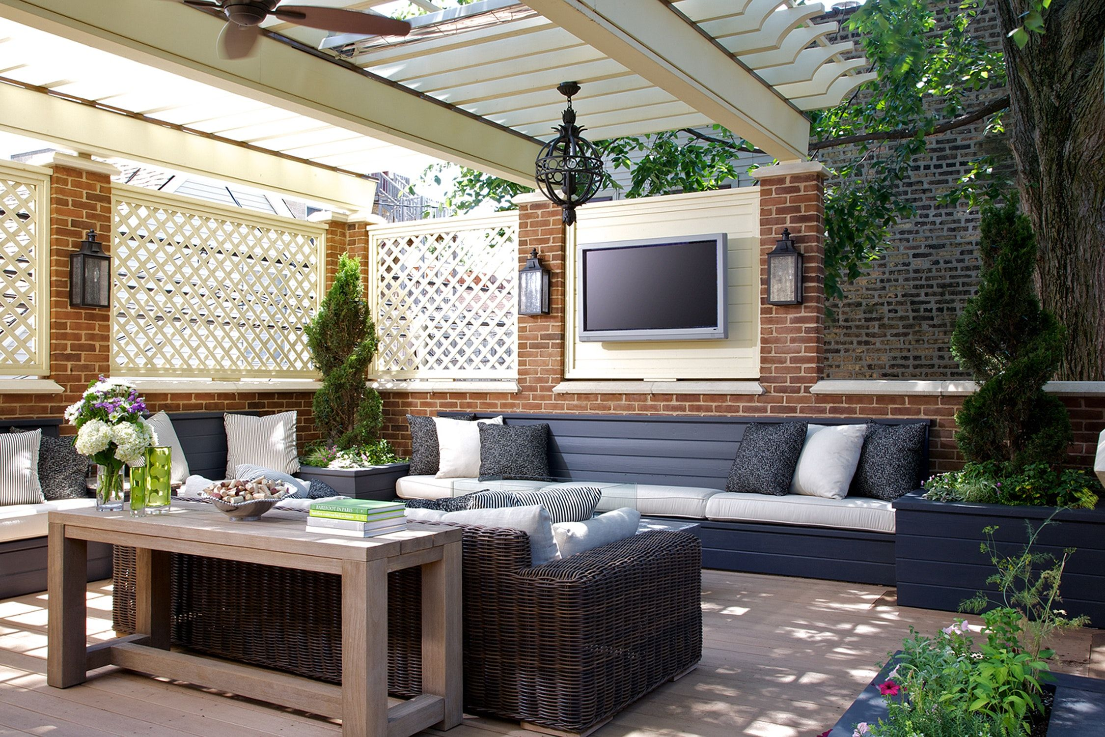 Private Rooftop Terrace with Sitting Area (With images