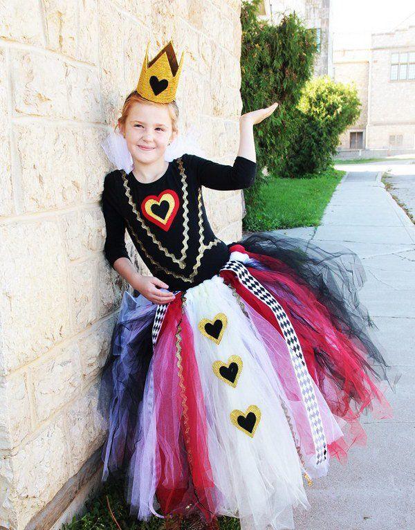 Queen Of Hearts Alice In Wonderland Costume Kids