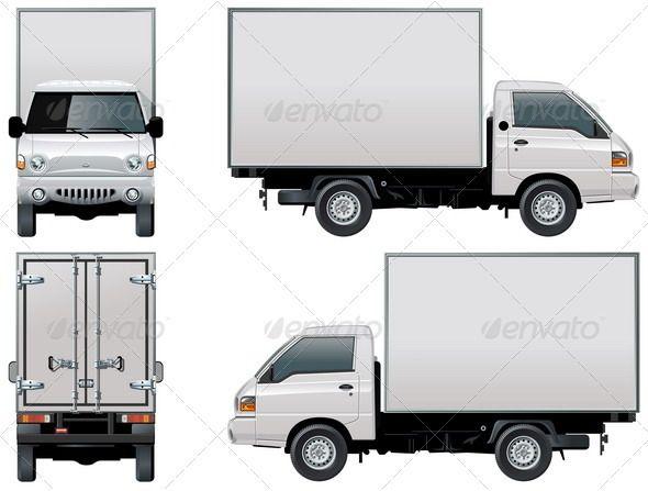 Fast Delivery Truck Icon Graphic Design Template Vector Icon