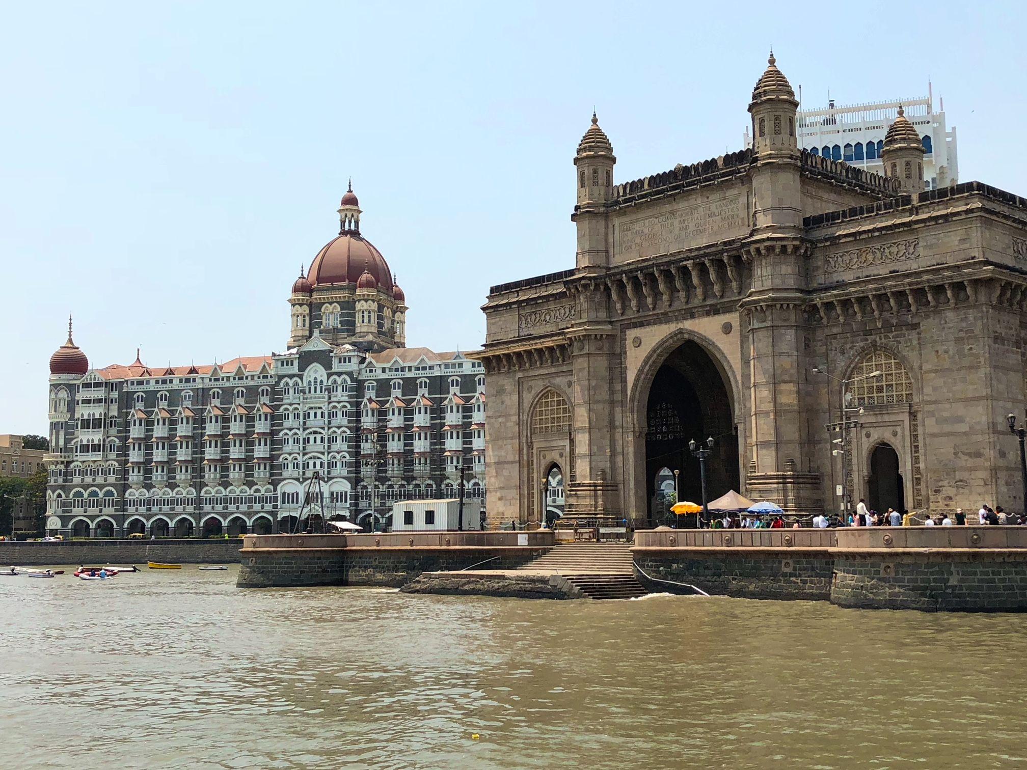 The Gateway Of India The Taj Mahal Palace Hotel In Mumbai Taj