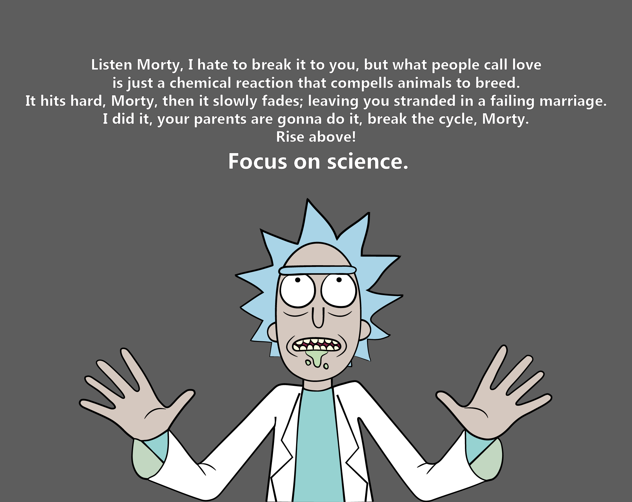 Lil\' bits... | Rick, morty quotes, Rick, morty poster, Rick ...