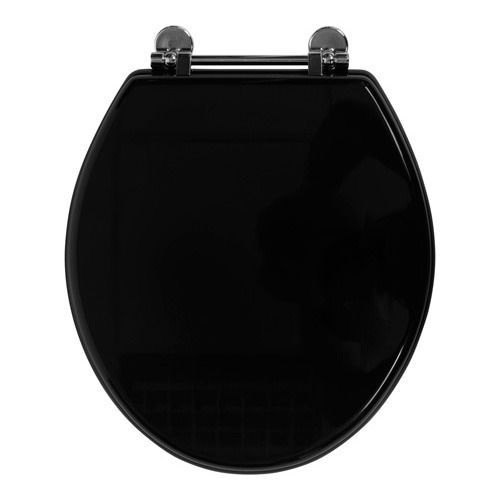 This traditional wooden toilet seat can be used with any Savoy toilet  It  is manufactured from MDF  with a painted and lacquered gloss black finish Savoy gloss black WC seat   bathroom ideas   Pinterest   Victorian  . Wooden Black Toilet Seat. Home Design Ideas