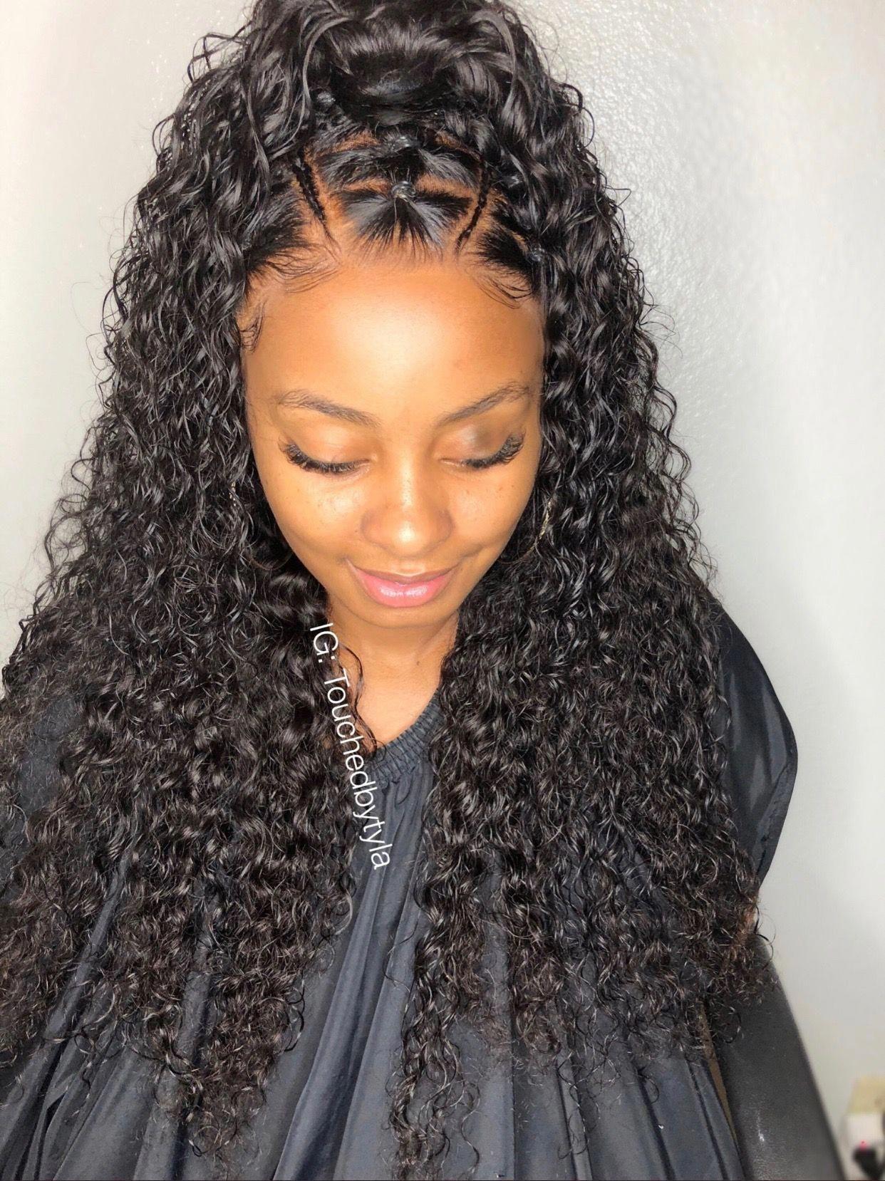 Adore this blackhairstylesforlonghair black ponytail