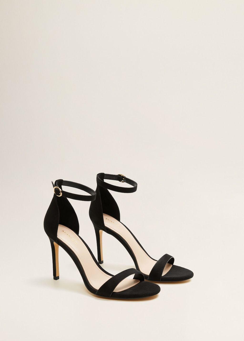 1c72f0f6d9f14b Reiss Garbo Metallic High Heeled Strappy Sandals at John Lewis   Partners