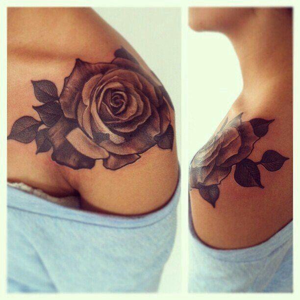 Desert Rose Tattoo Google Search Shoulder Tattoos For Women Tattoos Pretty Tattoos For Women