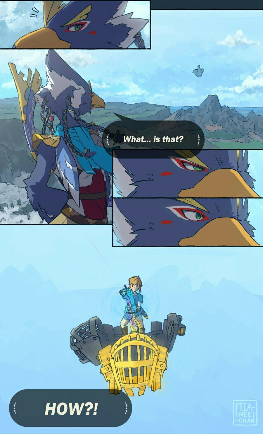 Link Magnesis Revali Legend Of Zelda Breath Of The Wild