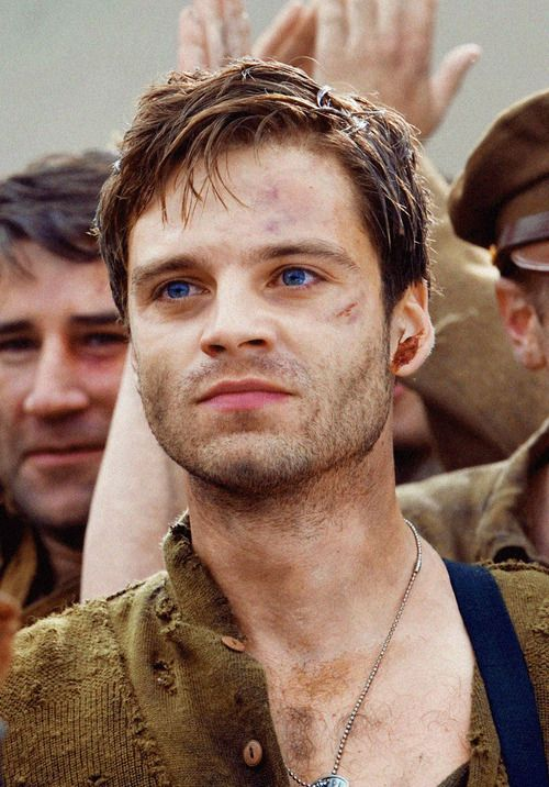 Bucky Barnes ♥ (Everytime I see this picture, his eyes are