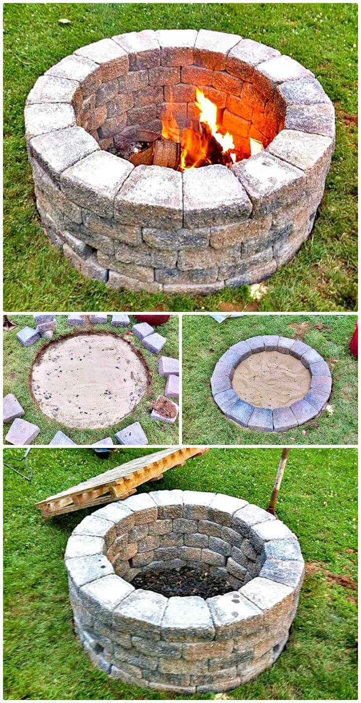 Building A Simple Fire Pit For Your Garden - 62 Fire Pit ...