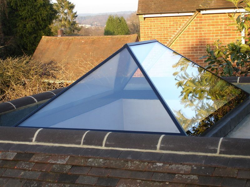 Roof Lanterns Gallery - Reflex UK. Really like the minimal frame ...