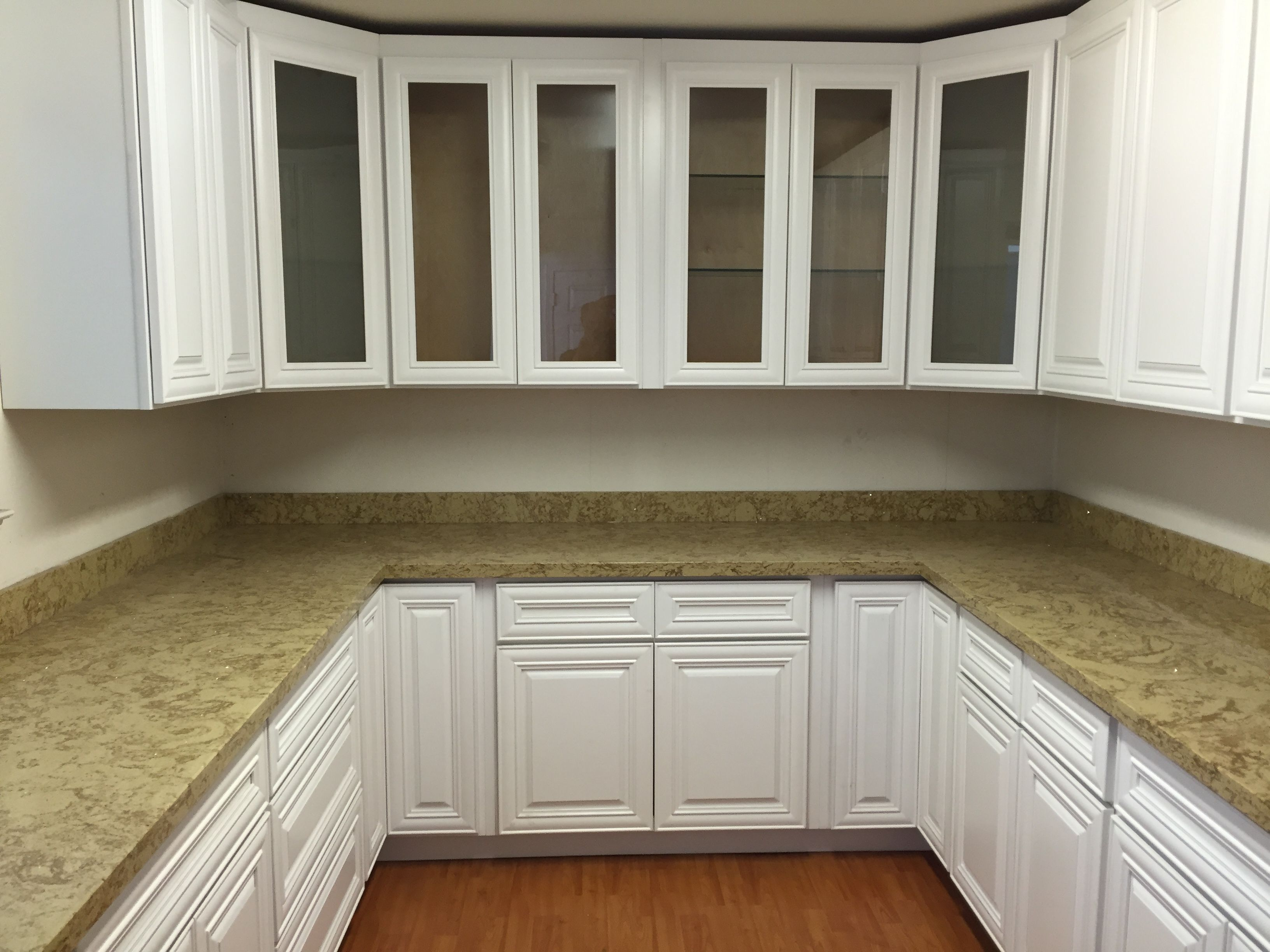 Slab kitchen cabinets  Image result for raised panel cabinets with slab drawers white