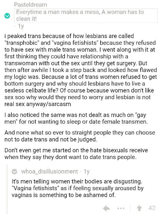 As If Feeling Sexually Aroused By Vaginas Is Something To Be Ashamed Of