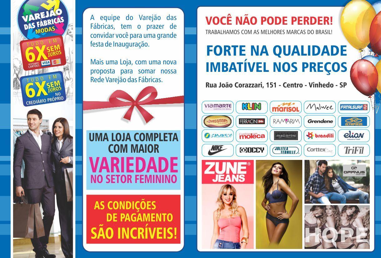 Convite Varejão