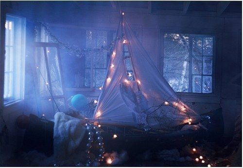 Let them sleep in a spooky fort. | 29 Frightfully Genius Ideas For The Spookiest Slumber Party Ever