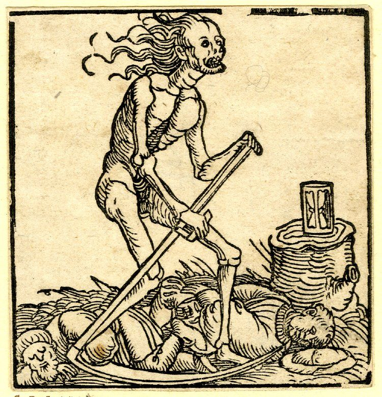 Image result for DEATH WOODCUT