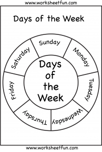 Many Days of the Week Printables