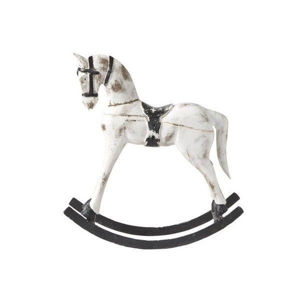 Dimension : 60x17x67 cm. Ce cheval à bascule