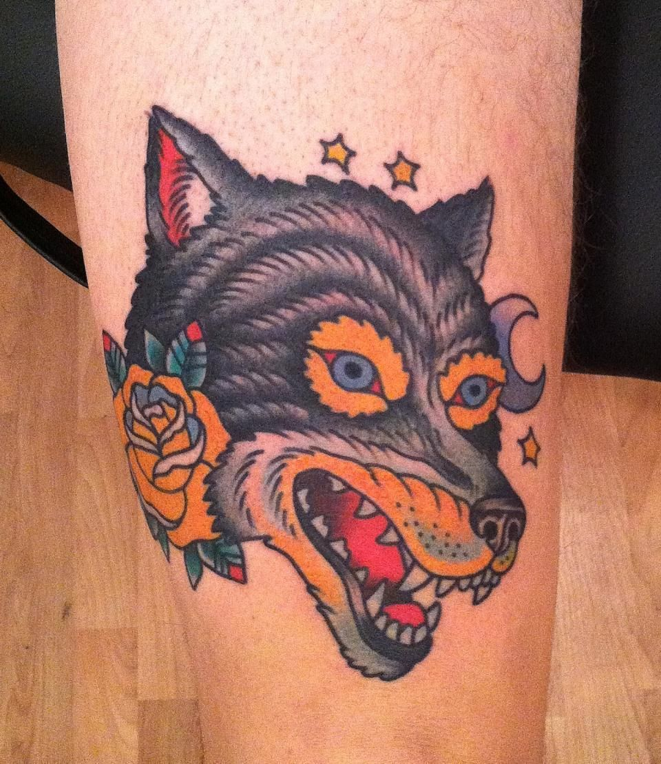 The other wolf tattoo - Jason Walstrom | [Lifestyle × Ink ...