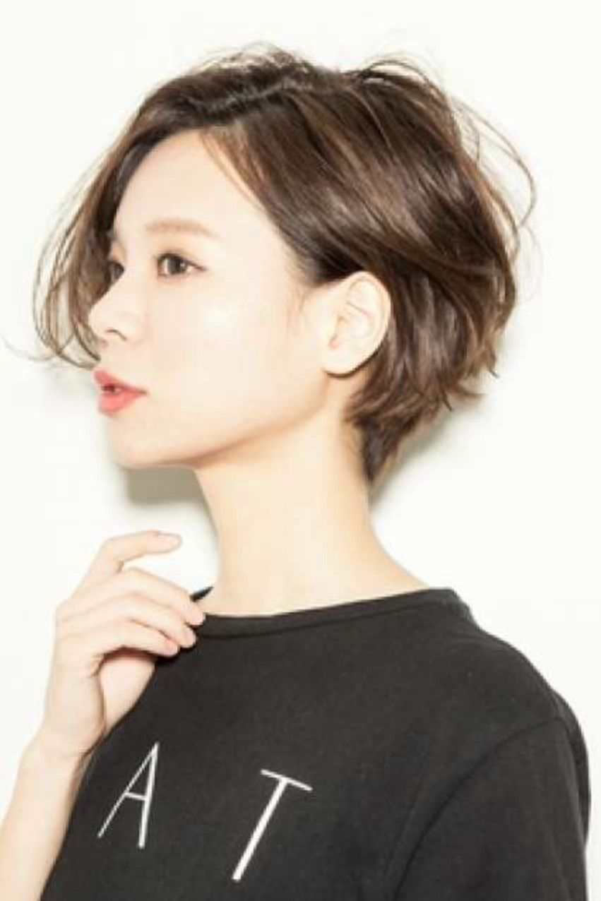 Great short haircut tokyo street hairstyle hair pinterest