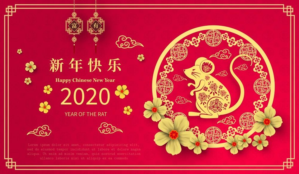 Chinese New Year 2020 images, Wallpapers POETRY CLUB in