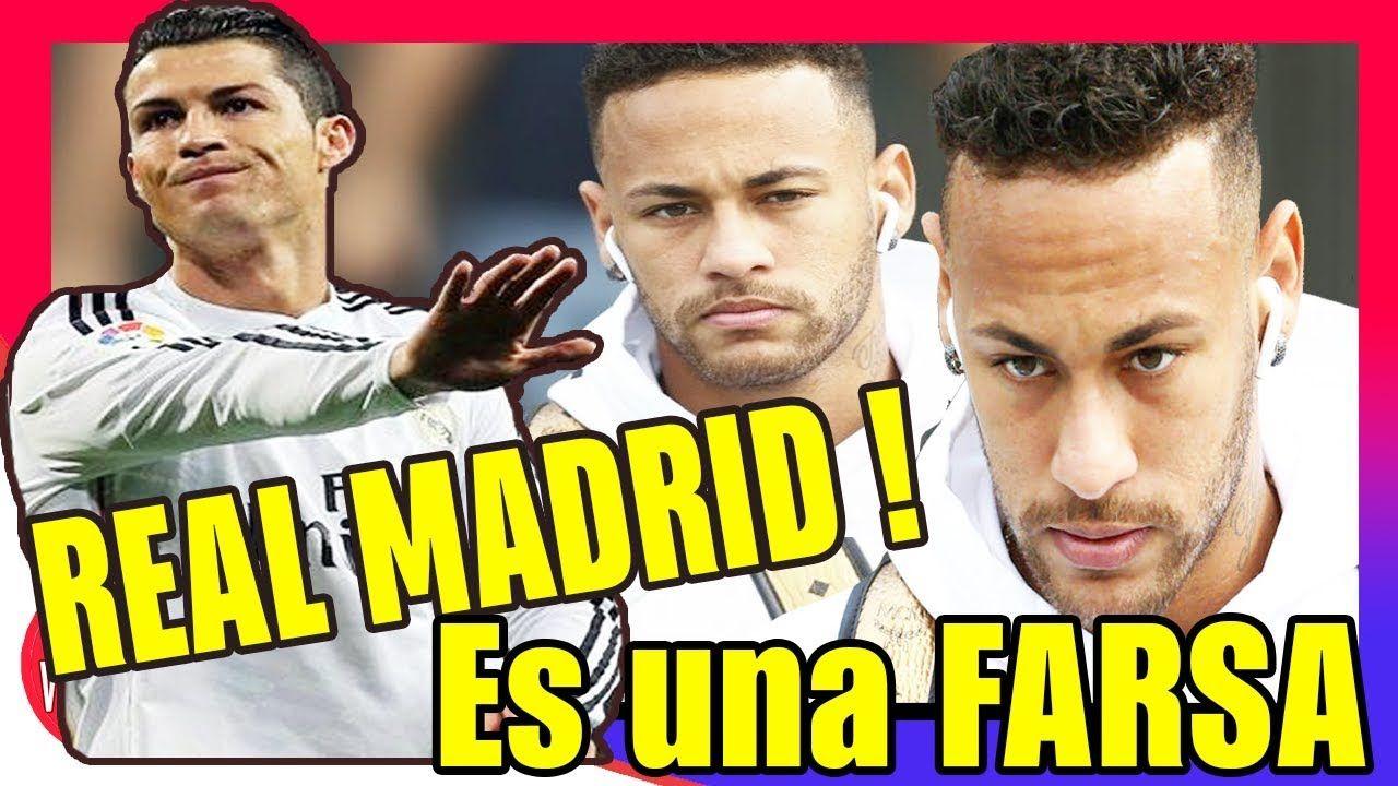 El Real Madrid Niega haber ofertado por NEYMAR es una