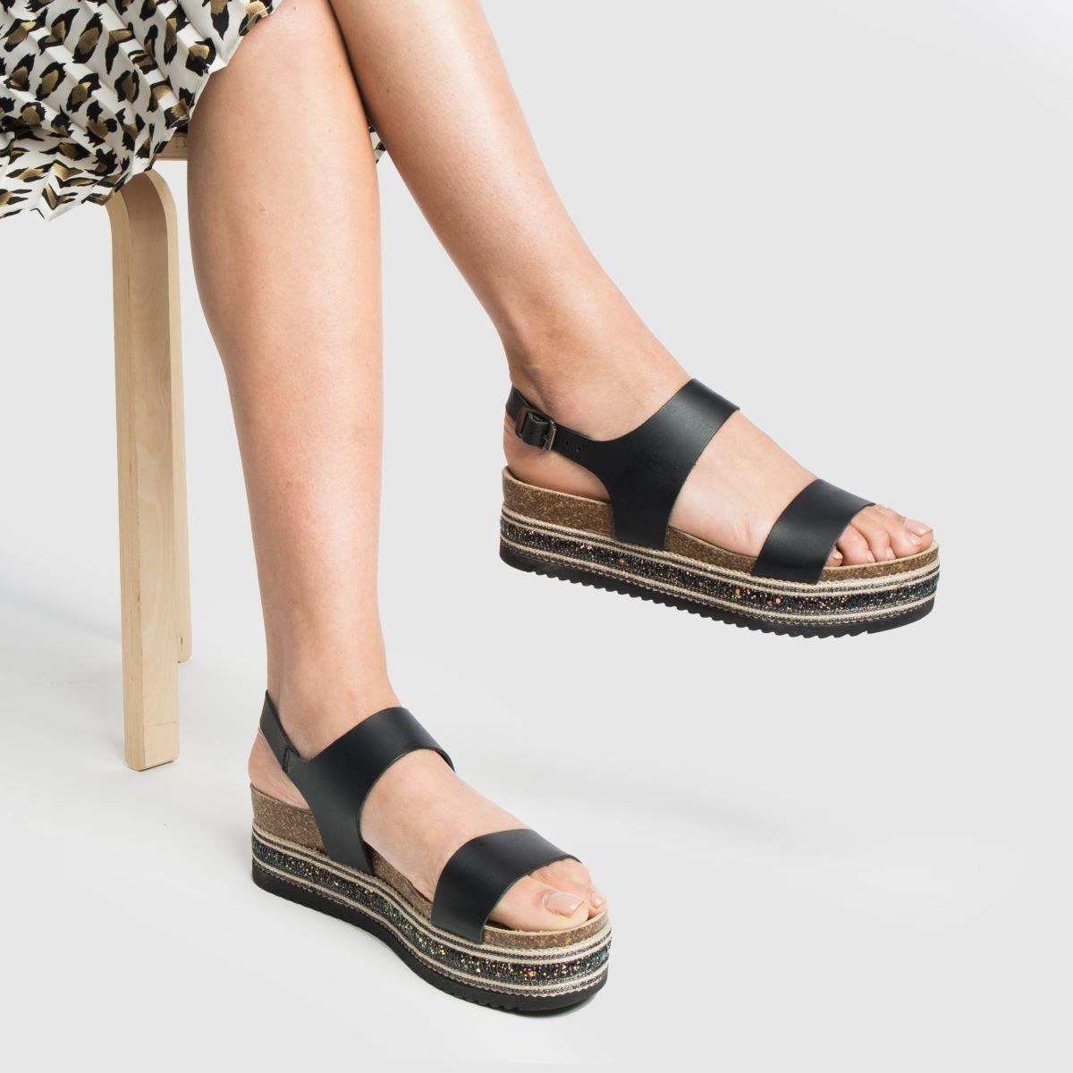 quality design a few days away cheap for discount schuh black orlando sandals in 2019   Black sandals, Sandals ...