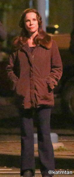 Barbara Hershey on set (November 04, 2015) in Steveston