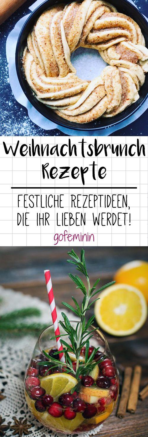 Mal was anderes: 3 Weihnachtsbrunch-Rezepte, die eure Gäste lieben werden! #brunchideen