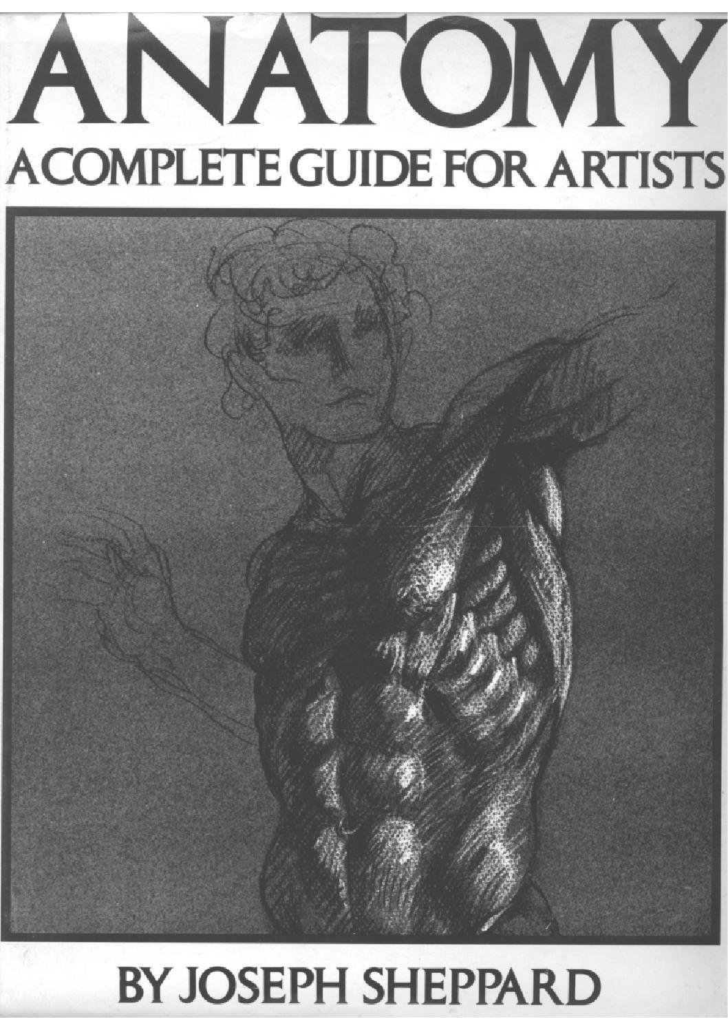 Joseph Sheppard - Anatomia Guia Completa para Artistas | Anatomía ...