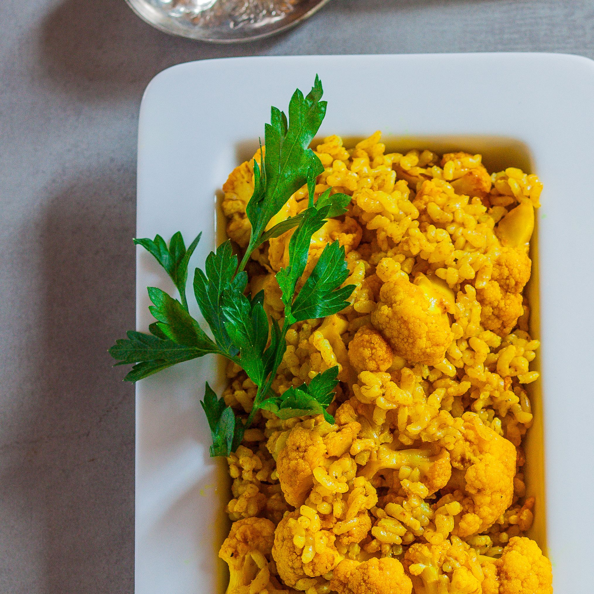 Curried Brown Rice with Roasted Cauliflower   Food & Wine