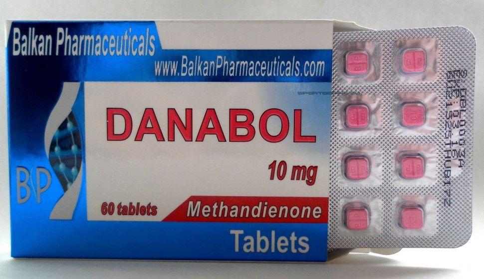 Balkan Pharma Danabol (Dianabol) 10mg  High quality European