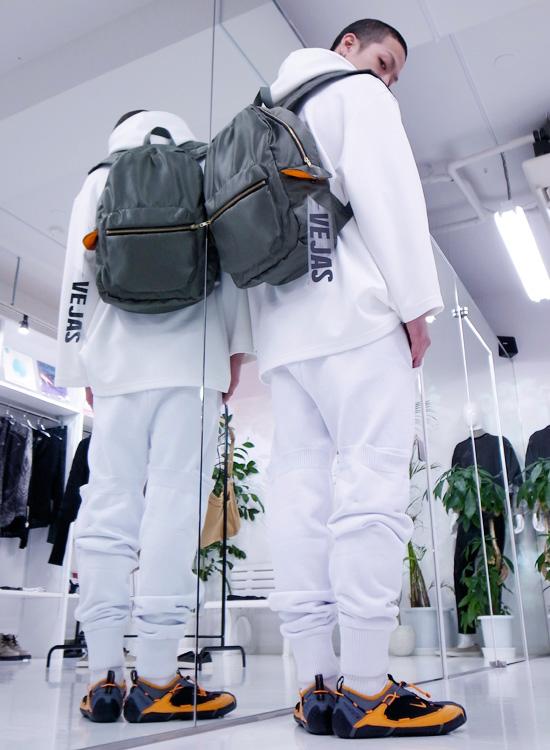 VEJAS – Bomber Backpack (Radd Lounge Exclusive) Styles. http://blog.raddlounge.com/?p=44458 #vejask #vejas #vejaskruszewski #exclusivepiece #raddlounge #shibuya #tokyo #japan #selectshop