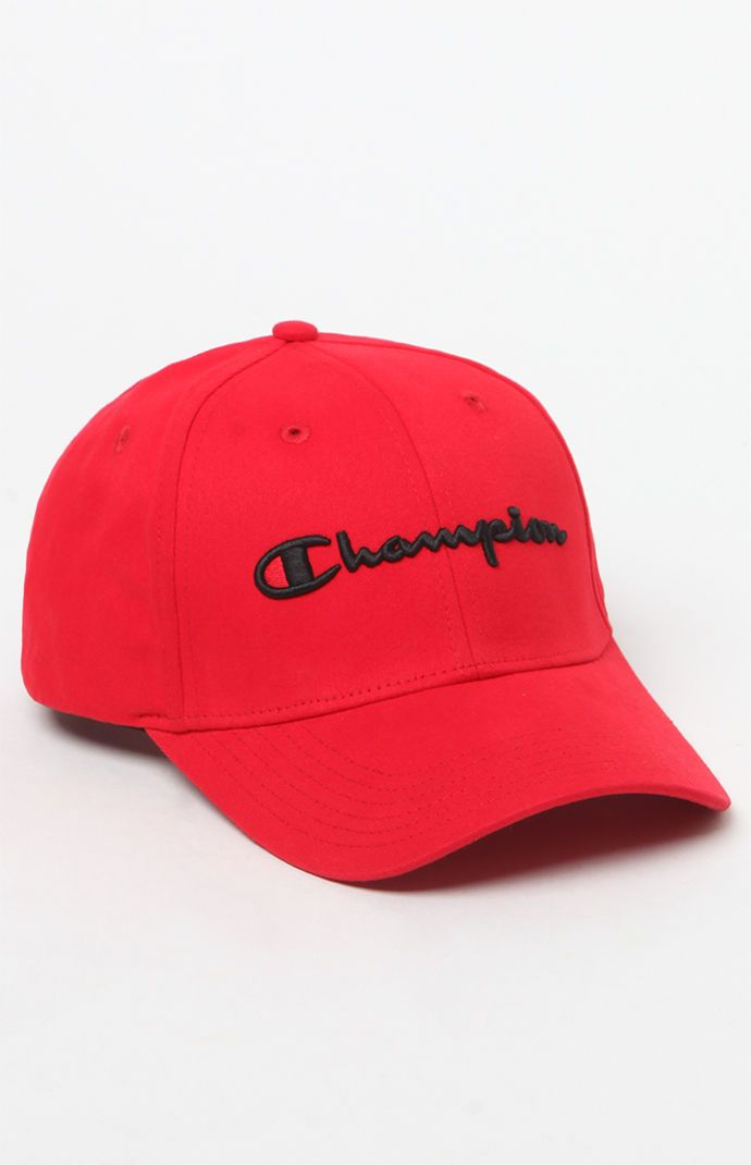 ffd236444fe Champion Classic Twill Strapback Dad Hat in 2019