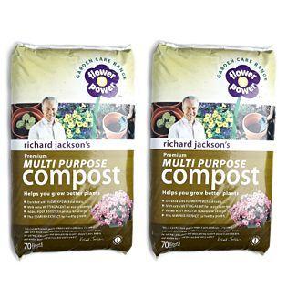 Richard Jackson S 2 X 70l Premium Multi Purpose Compost Qvc