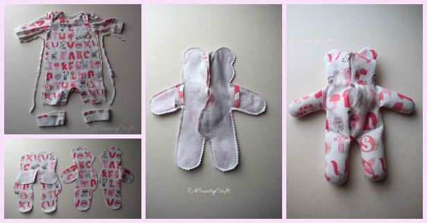 Sew Easy To Recycle Baby Clothes Taaskasutus Recycling