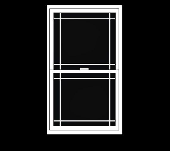 Prism By Simonton Window Grid Options Window Grids Vinyl Replacement Windows Windows