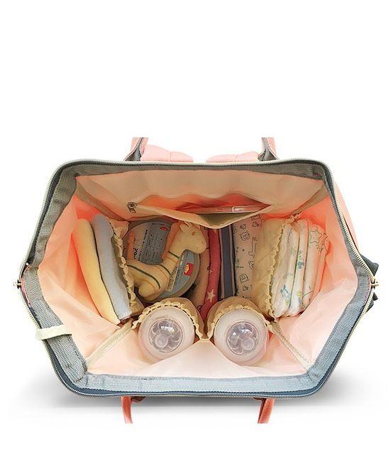 21e4f58db9 Fashion Mummy Maternity Nappy Bag Brand Large Capacity Baby Bag Travel  Backpack Desiger Nursing Bag for Baby Care