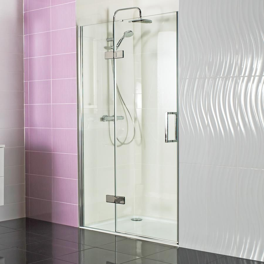 Decem Hinged Door With Hinged Inline Panel For Alcove Fitting Our Decem Hinged Door With Hinged Inl Luxury Shower Enclosures Luxury Shower Shower Enclosure