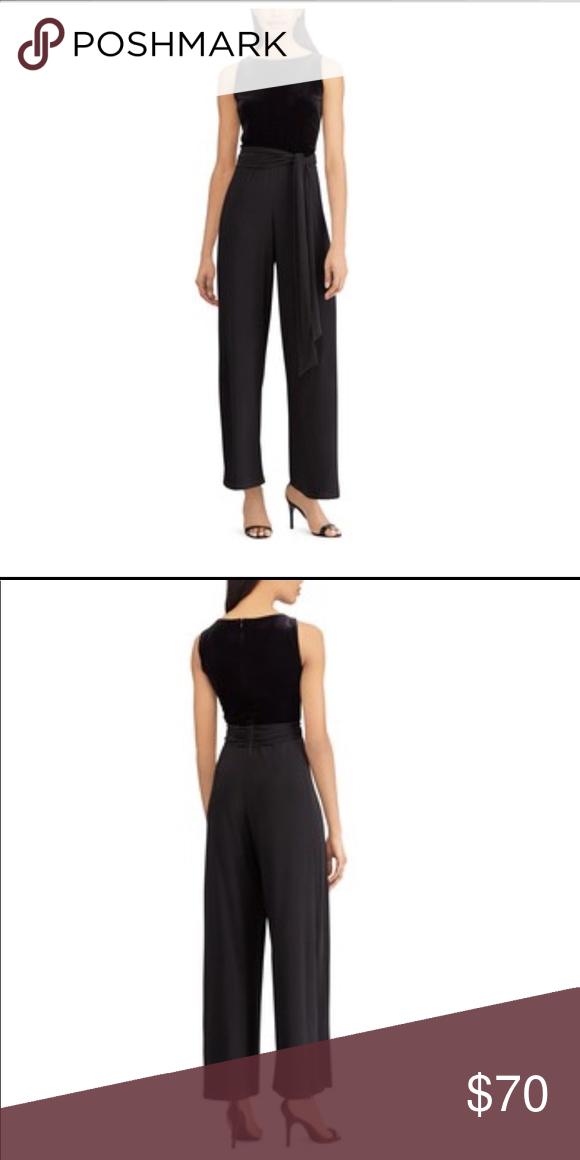 f06e859ad48 I just added this listing on Poshmark  Beautiful Velvet Black Jumpsuit.   shopmycloset
