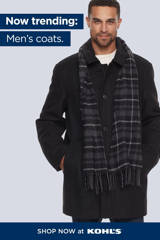 Find Men S Coats At Kohl S Mens Coats Coat Mens Outerwear [ 1500 x 1000 Pixel ]