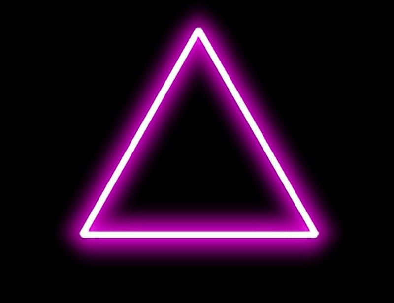 Pin by Sharique Jamal Ansari on Neon triangle Png