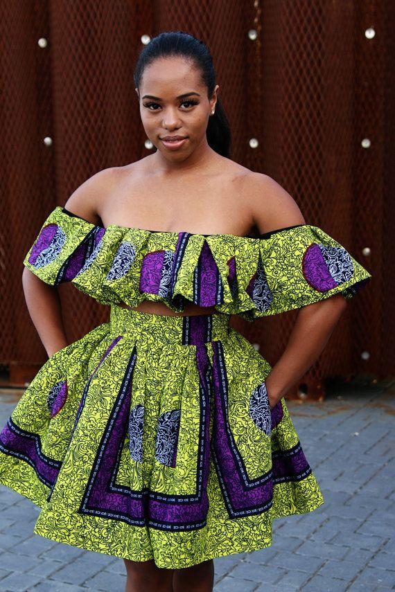 47++ Off shoulder african dress info