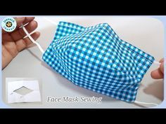 Photo of Face Mask Sewing Tutorial Face Mask Very Fast with Filter Pocket | วิธีทำหน้ากากผ้าด้วยรูปแบบที่ง่าย