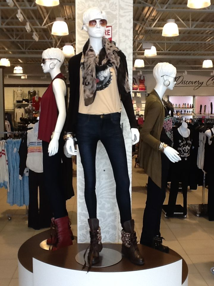 Infinity scarves are the perfect accessory for your back to school outfit!  Infinity scarf $7.99 #backtoschool #discoverystyle