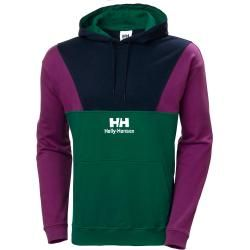 Photo of Helly Hansen Yu20 Blocked Hoodie Green Xl