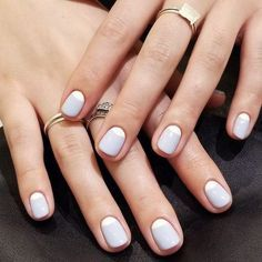 62 Awesome Minimalist Nail Art Design to Beautify Your Appearance in 2020 | Minimalist nail art, Minimalist nails, Classy nails
