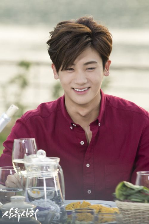 "Park Hyungsik @ Drama ""High Society"" Behind Picture"