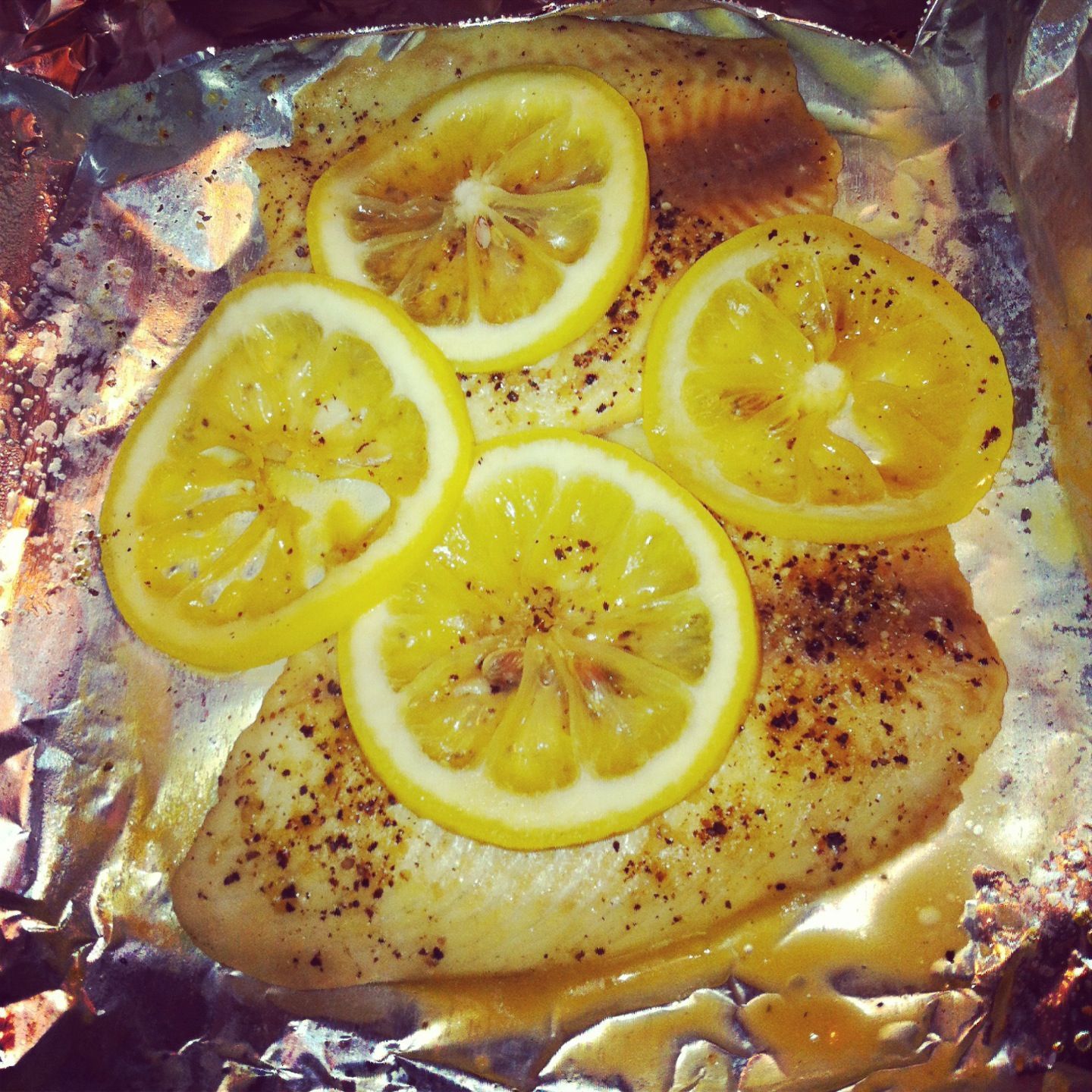 how to cook tilapia in foil